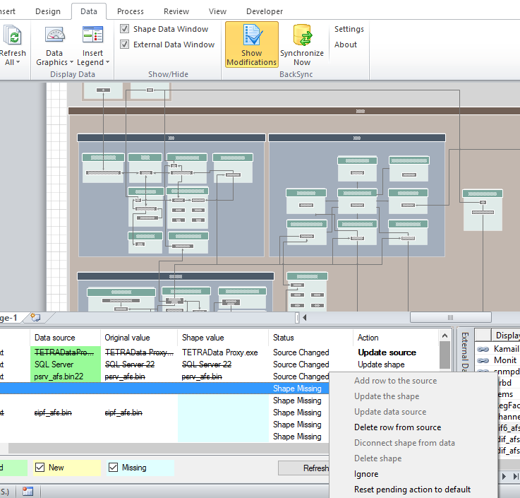 Visio BackSync – Unmanaged Visio