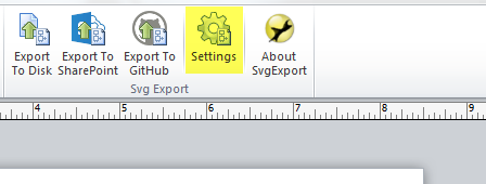HTML Export Options – Unmanaged Visio