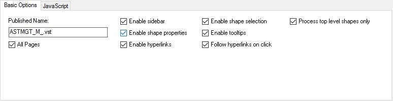 Exporting Html Diagrams  U2013 Basic Settings  U2013 Unmanaged Visio