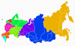 Visio Map of Russia regions