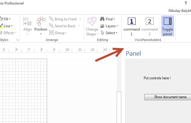 Visual Studio Addin project templates – Unmanaged Visio